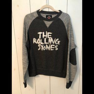 The Rolling Stones Grrr Grey Raglan Sweatshirt SzM